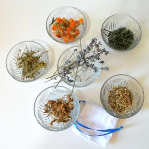 herb pillow herbs and sachet